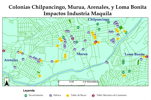 F1_Mapa_COLE_Impactos Industria Maquil SIN CENSO