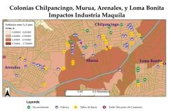 F1B_Mapa_COLE Impactos Industria Maquil Con Censo